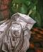 Notturno con specchio tondo, 1997 (110x90)