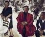 Famiglia con donna in rosso, 1970 (80x100)