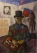 Il pittore letterato (autoritratto) 2012 (110 x 80)